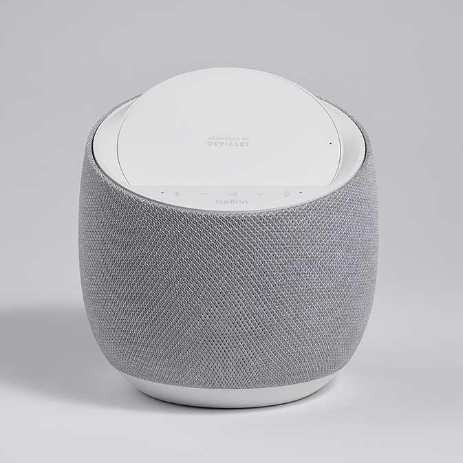 Belkin G1S0001 Soundform Elite Smart Speaker image, white, front view