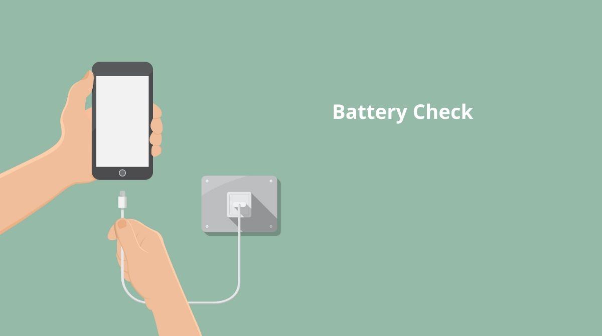 έλεγχος μπαταρίας κινητού